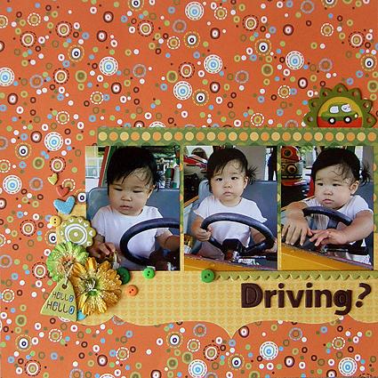 Driving?