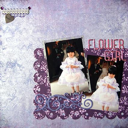 FLOWER GIRL(scrap×scrap#14)