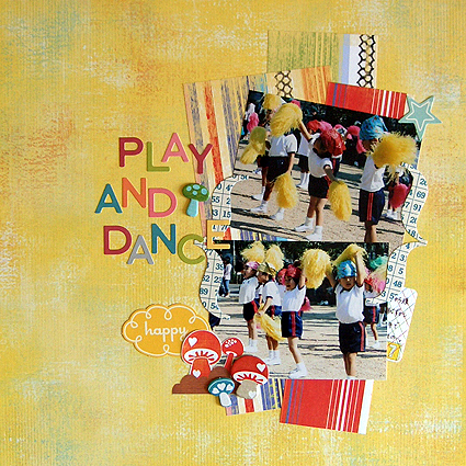 PLAY AND DANCE(Scrapidées/sketch56)