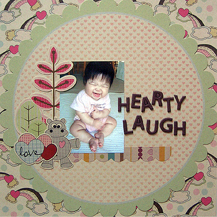 HEARTY LAUGH/KIMAMAniColorChallenge:Craft