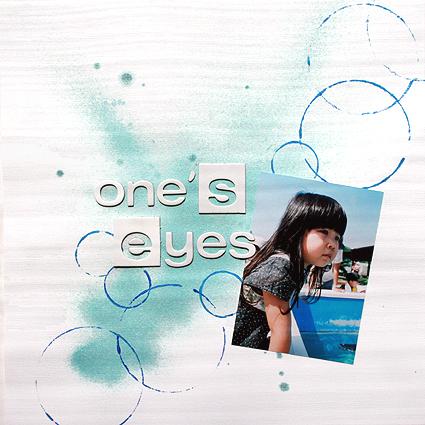one's eyes(scrap×scrap#25)