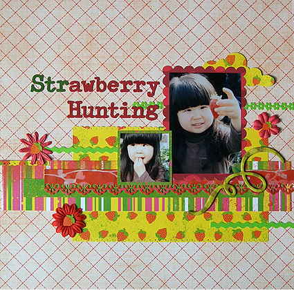 Strawberry Hunting(Scrap in Japan#16)