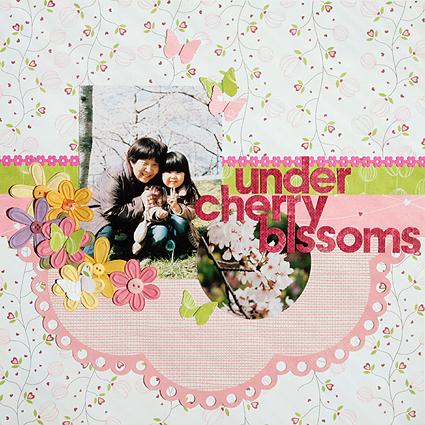 under cherry blssoms(Got Sketch #100)