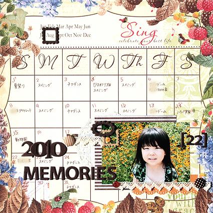 2010 MEMORIES