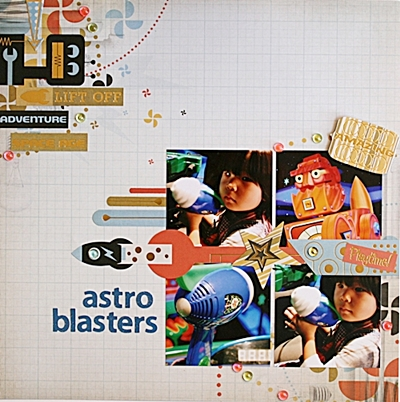 astro blasters(Scrap in Japan#19)