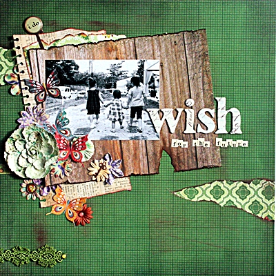 wish(Artist's Garden Place #6)