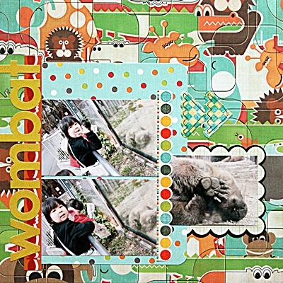 wombat(Sassafras Lass skecth)